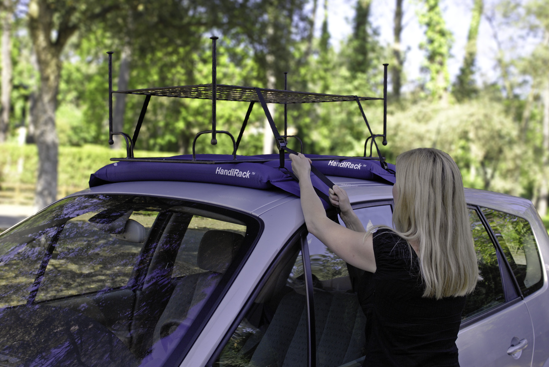 Multi purpose roof rack