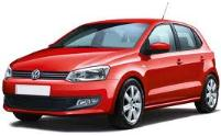 VW Polo roof rack